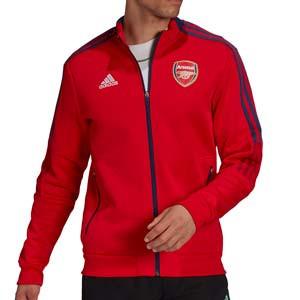 Chaqueta adidas Arsenal himno - Chaqueta de chándal himno adidas de Arsenal FC - roja