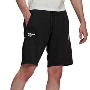 Short adidas Arsenal Travel - Pantalón corto de chándal adidas del Arsenal FC - negro