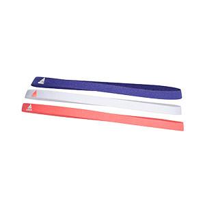 Pack cintas de pelo adidas 3 unidades - Pack de tres cintas para el pelo elásticas adidas - azules