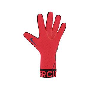 Nike GK Mercurial Touch Elite - Guantes de portero profesionales Nike corte negativo - rosas - derecho