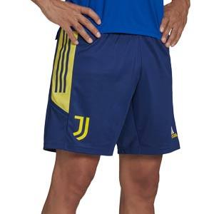 Short adidas Juventus entrenamiento UCL - Pantalón corto de entrenamiento de la Champions League adidas de la Juventus - azul marino