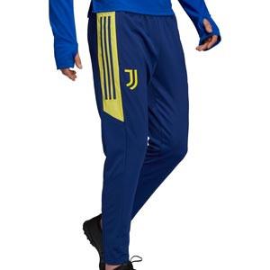 Pantalón adidas Juventus entrenamiento UCL - Pantalón largo de entrenamiento de la Champions League adidas de la Juventus - azul marino