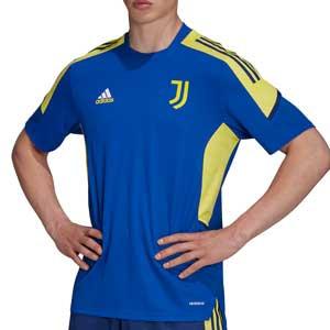 Camiseta adidas Juventus entrenamiento UCL - Camiseta de entrenamiento de la Champions League adidas de la Juventus - azul