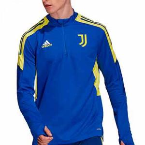 Sudadera adidas Juventus entrenamiento UCL - Sudadera de entrenamiento de la Champions League adidas de la Juventus - azul