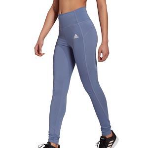 Mallas adidas Feel Brilliant mujer - Mallas largas compresivas de entrenamiento para mujer adidas - lila