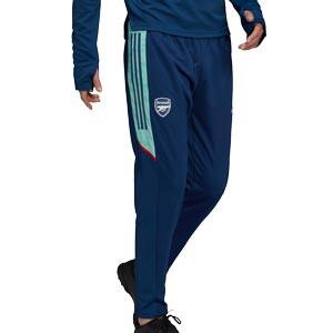 Pantalón adidas Arsenal entrenamiento UCL  - Pantalón largo entrenamiento Champions League adidas Arsenal - azul marino