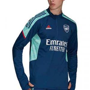 Sudadera adidas Arsenal entrenamiento UCL - Sudadera entrenamiento adidas Arsenal para la Champions League - azul marino