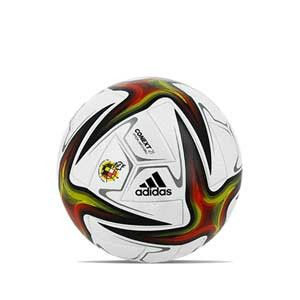 Balón adidas España Pro talla 5 - Balón profesional de fútbol playa adidas de talla 5 - blanco