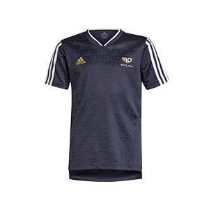 Camiseta adidas Salah niño - Camiseta infantil adidas de Mohamed Salah - azul marino