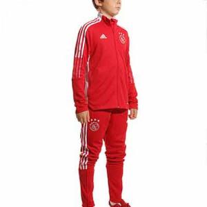 Sudadera adidas Ajax entrenamiento - Sudadera de entrenamiento para entrenamiento adidas del Ajax - roja