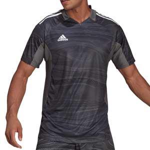 Camiseta adidas Condivo GK 21 - Camiseta de portero de manga corta adidas - gris - frontal