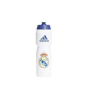Botellín adidas Real Madrid - Botellín adidas 0,75L Real Madrid CF - blanco - completa frontal