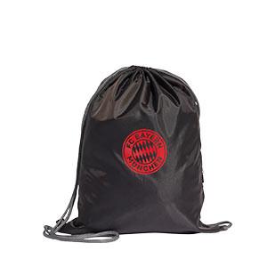 Gymbag adidas Bayern - Mochila de cuerdas adidas del Bayern de Múnich - negra