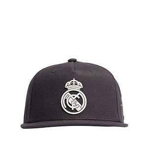 Gorra adidas Real Madrid niño - Gorra infantil adidas del Real Madrid CF - gris oscura
