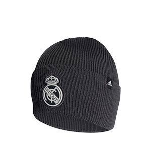 Gorro adidas Real Madrid - Gorro de invierno adidas del Real Madrid - gris oscuro