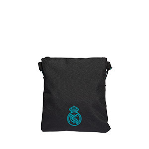 Bolsa adidas Real Madrid - Bolsa bandolera adidas del Real Madrid - negra