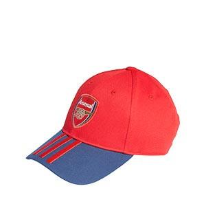 Gorra adidas Arsenal Baseball - Gorra adidas del Arsena FC - roja y azul marino