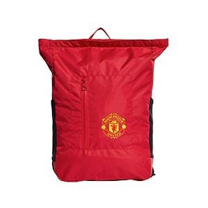 Mochila adidas United - Mochila de deporte adidas Manchester United (48x31x12) cm - roja