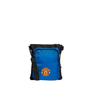 Bandolera adidas United Organiser - Bolsa bandolera adidas del Manchester United - azul y negra