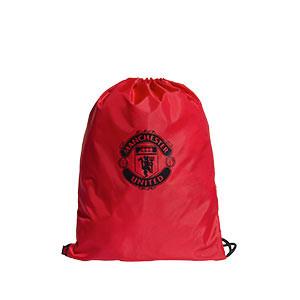 Gymbag adidas United - Mochila de cuerdas adidas del Manchester United - roja