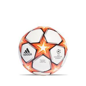 Balón adidas Finale 21 Competition FIFA talla 4 - Balón de fútbol adidas de la Final de la Champions 2021 2022 talla 4 - blanco y naranja