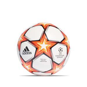 Balón adidas Finale 21 Competition FIFA talla 5 - Balón de fútbol adidas de la Final de la Champions 2021 2022 talla 5 - blanco y naranja