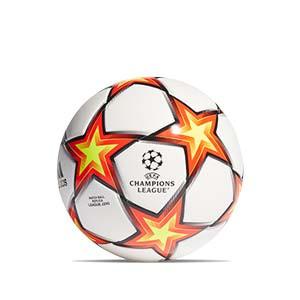 Balón adidas Finale 21 League J290 talla 5 - Balón de fútbol de peso reducido para niño adidas de la Champions League 2021 2022 talla 5 - blanco y naranja