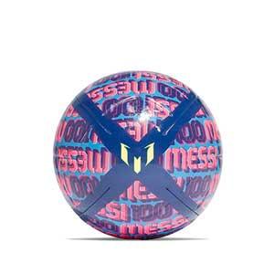 Balón adidas Messi Club talla 5 - Balón de fútbol adidas de Messi talla 5 - azul, rosa