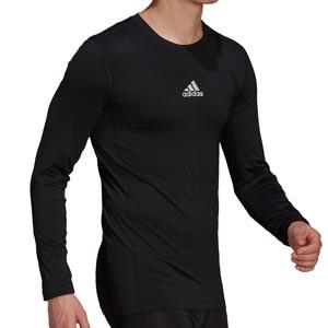 Camiseta adidas Techfit - Camiseta entrenamiento compresiva manga larga adidas Techfit - negra