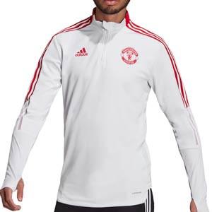 Sudadera adidas United entrenamiento - Sudadera de entrenamiento adidas del Manchester United - gris