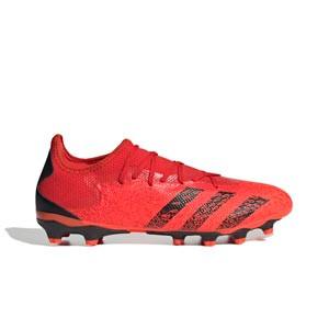 adidas Predator FREAK .3 Low MG - Botas de fútbol adidas MG para césped artificial - rojas