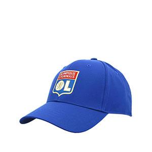 Gorra adidas Olympique Lyon - Gorra adidas del Olympique de Lyon - azul