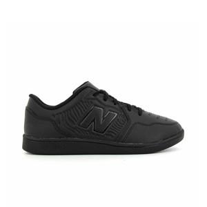 New Balance Audazo v5+ Control jr IN - Zapatillas de fútbol sala infantiles New Balance suela lisa IN - negras