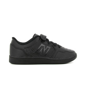 New Balance Audazo v5+ Control jr IN velcro - Zapatillas de fútbol sala infantiles New Balance suela lisa IN - negras