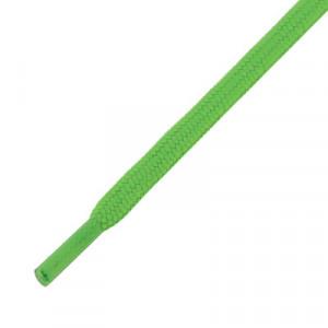 Cordones planos y finos futbolmania - Cordones para botas fútbol (120 cm de largo x 5 mm de ancho) - verdes - frontal