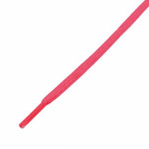 Cordones planos y finos futbolmania - Cordones para botas fútbol (120 cm de largo x 5 mm de ancho) - rosas - frontal