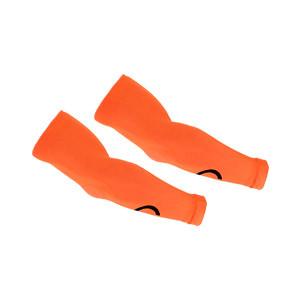 Manguitos Goalkeepers portero - Manguitos de portero compresivo y antiabrasión - naranjas - frontal