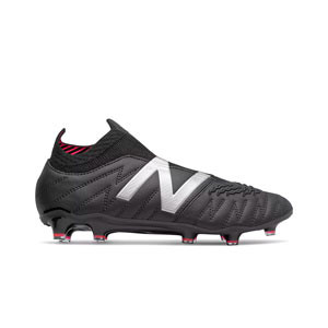New Balance Tekela v3+ Pro Leather FG - Botas de fútbol de piel de canguro New Balance FG para césped natural o artificial de última generación - negras