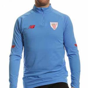 Sudadera New Balance Athletic Club entrenamiento - Sudadera de entrenamiento New Balance del Athletic Club de Bilbao - azul celeste