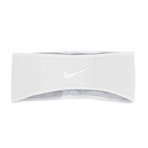Cinta de pelo Nike Knit - Cinta de pelo elástica Nike - blanca
