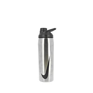 Botellín Nike Hypercharge Chug 500 ml - Botellín de agua para entrenamiento Nike de 500 ml - plateado