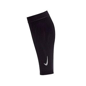 Pantorrilleras compresivas Nike Zoned Support - Mangas compresivas para los gemelos Nike - negras - frontal