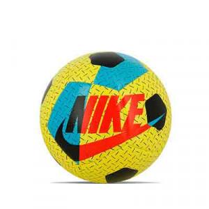 Balón Nike Airlock Street X talla 5 - Balón de fútbol Nike talla 5 - amarillo