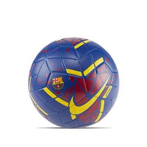 Balón Nike Barcelona Strike Talla 5 - Balón de fútbol Nike Barcelona Strike talla 5 - azulgrana - frontal