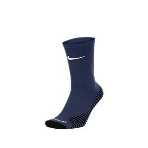 Calcetines media caña Nike Squad - Calcetines media caña para entrenamiento fútbol Nike - azul marino - frontal