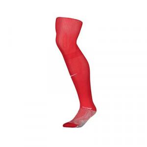 Medias antideslizantes Nike Grip Strike - Medias de fútbol Nike con sistema antideslizante - rojas