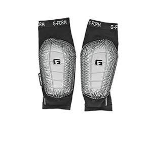 Espinilleras G-Form Pro-S Elite 2 - Espinilleras de fútbol G-Form con mallas de sujeción - negras