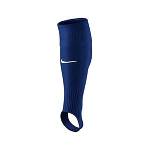 Medias Nike sin pie Stirrup - Medias de fútbol Nike Stirrup Game III sin pie - Azul Marino - frontal