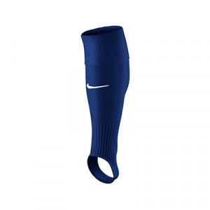 Medias Nike sin pie Stirrup - Medias de fútbol cortadas Nike - azul marino - frontal