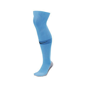 Medias Nike Matchfit - Medias de fútbol Nike - azul celeste - frontal